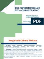 Principios Constitucionais de Direito Administrativo