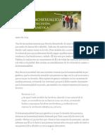 2014 Enero - Homosexualidad, Por Decisión, No Genética