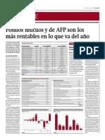 Fondos Mutuos y AFP Son Más Rentables El 2014_Gestión 5-06-2014