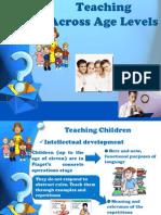 Teaching Across Age Levels