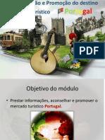 Informação e Promoção Do Destino Turístico Portugal