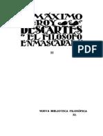 Leroy, Maximo - Descartes (El Filosofo Enmascarado) Tomo 2