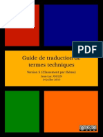 Guide de Traduction de Termes Techniques