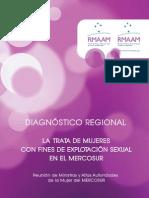 Diagnóstico Regional - Trata de Mujeres