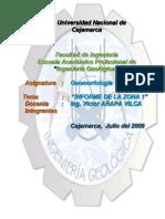 Informe Geomorfología Cerro Licliconga