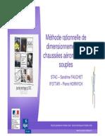 Dimensionnement Méthode Rationnelle Des Chaussées Aéronotiques