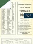 CNW Galena Div TT #4 Oct 1969