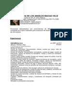 Cv Maria de Los Angeles Macias Veliz