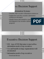 Executive Decision Support System