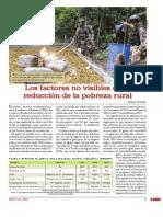 Los Factores No Visibles de La Reduccion de La Pobreza Rural
