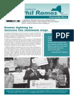 Phil Ramos Community News Spring 2014