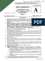 IES Electronics Paper I 2013