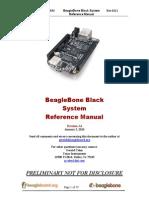 Beaglebone Black Reference Menu