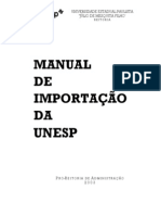 Manual Importacao