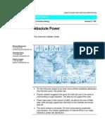 Absolute Power - The Internet's Hidden Order