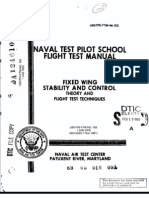 USN TPS Fixed Wing Stability and Control Theory and Flight Test Techniques