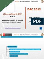 DAC 2012 Como Se Llena La DAC Parte II