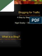 Blogging for Traffic
