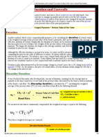 Duration and Convexity, With Illustrations and Formulas; Price Value of a Basis Point; Yield or Interest Rate Volatility