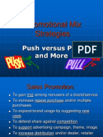 Push Pull strategy in marketing