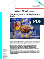 Diffusion Confusion - The Rising Role of the Replacement Cycle