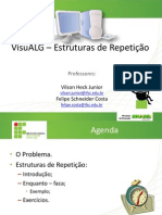 IP - VisuALG - Estruturas de Repeticao