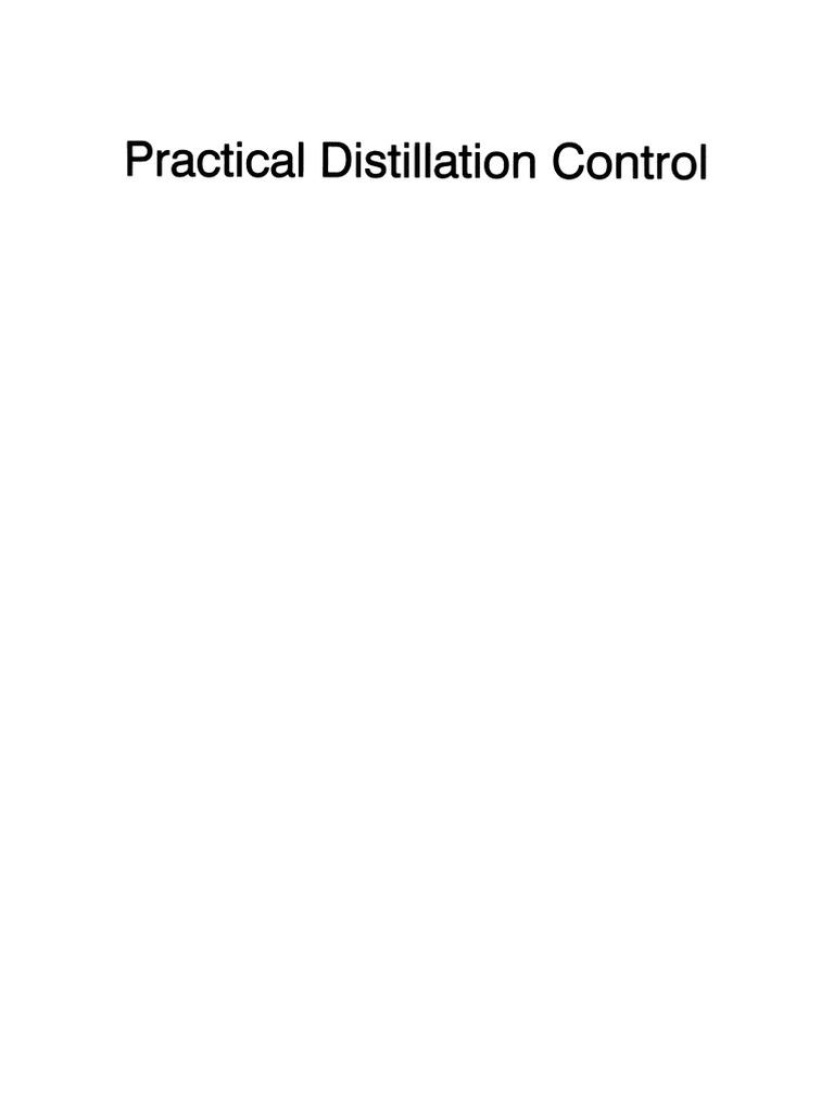 Practical distillation control distillation liquids fandeluxe Gallery