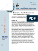 Stairway to Shareholder Heaven - Exploring Self-Affinity in Return on Investment