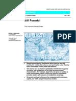 Still Powerful - The Internet's Hidden Order