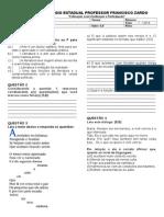 Avaliacao Bimestral - 1º B - 1EM.doc