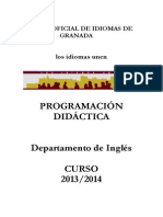 Programacion Ingles 2013-2014