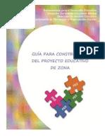Guía Para La Construccion Del PEZ 2014-2015