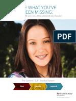 Carriere® SLX Self-Ligating Bracket Brochure