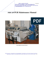 JUD MR 720 PUR BM 05 06 003 Maintenance Manual