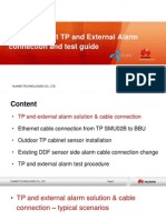 Globul Project TP and External Alarm Connection and Test Guide_ver.2