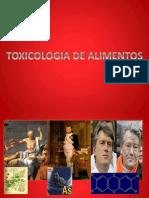 Toxicos en Alimentos Lima-huacho