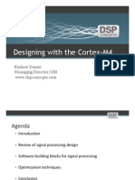 DSP Designing With the Cortex-M4