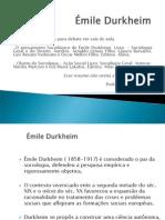 Émile Durkheim.