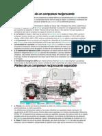 Características de Un Compresor Reciprocante