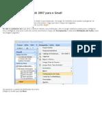 Como Configurar o Oulook 2007 Para o Gmail