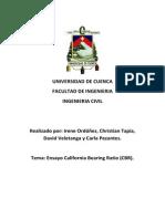 Ensayo CBR