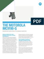 MC9190 G Specification