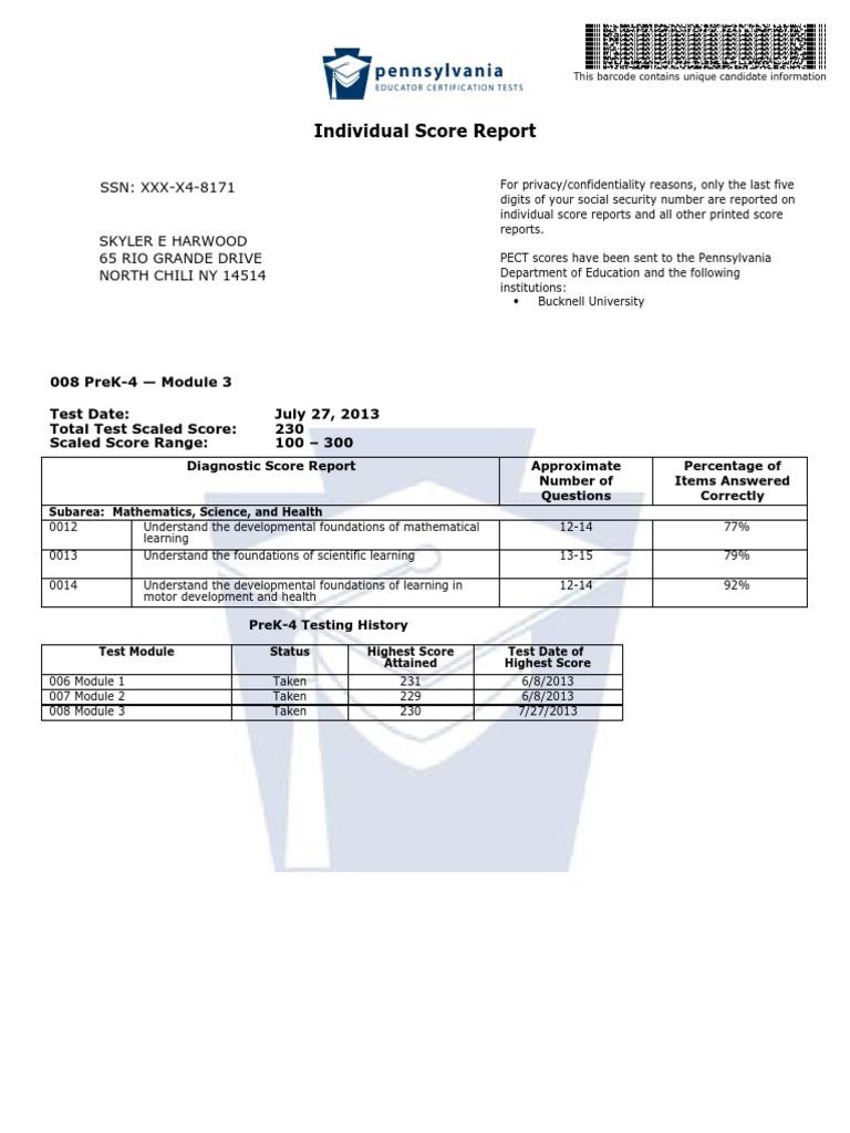 skyler harwood pect prek 4 module3 cognition psychology rh scribd com