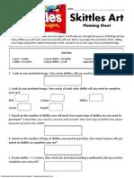 Skittle Art Planning Sheet