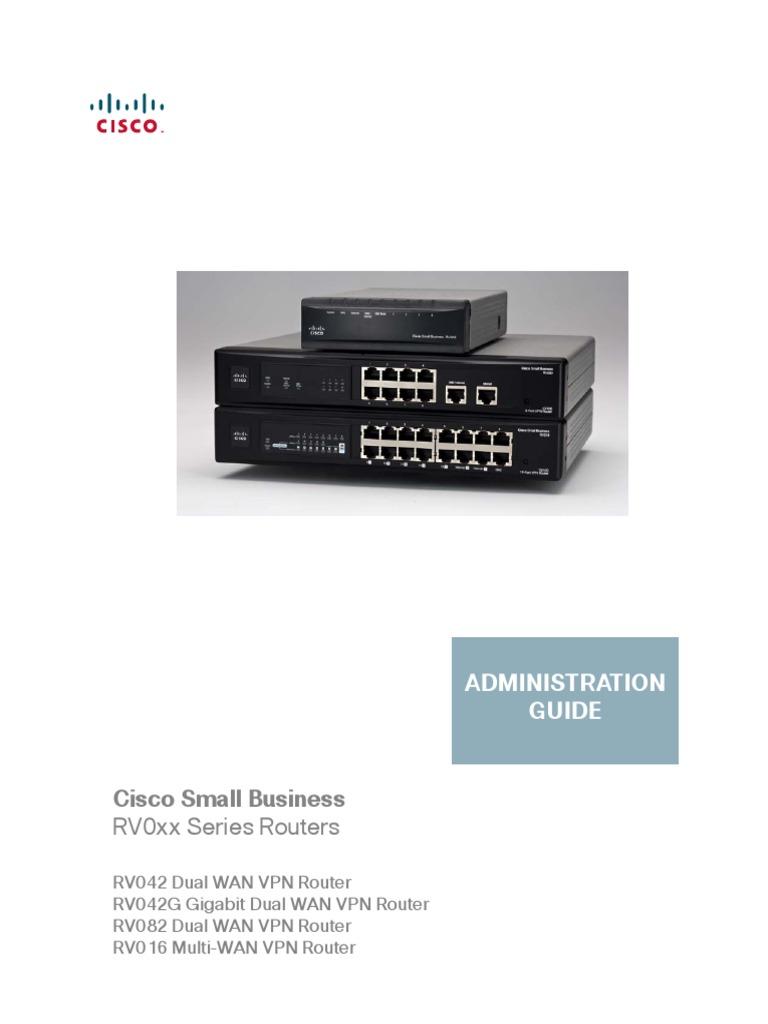 CISCO RV042 MANUAL PDF