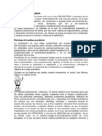 Concepto de Etapa Postulatoria