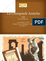 Breve Itinerario Nelle Antiche Olimpiadi