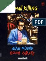 Dark Horse Comics - A Small Killing - Alan Moore & Oscar Zarate