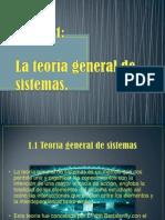 Unidad 1 Teoria Gral de Sistemas