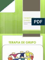 Expo. Terapia de Grupo, Pareja y Familia
